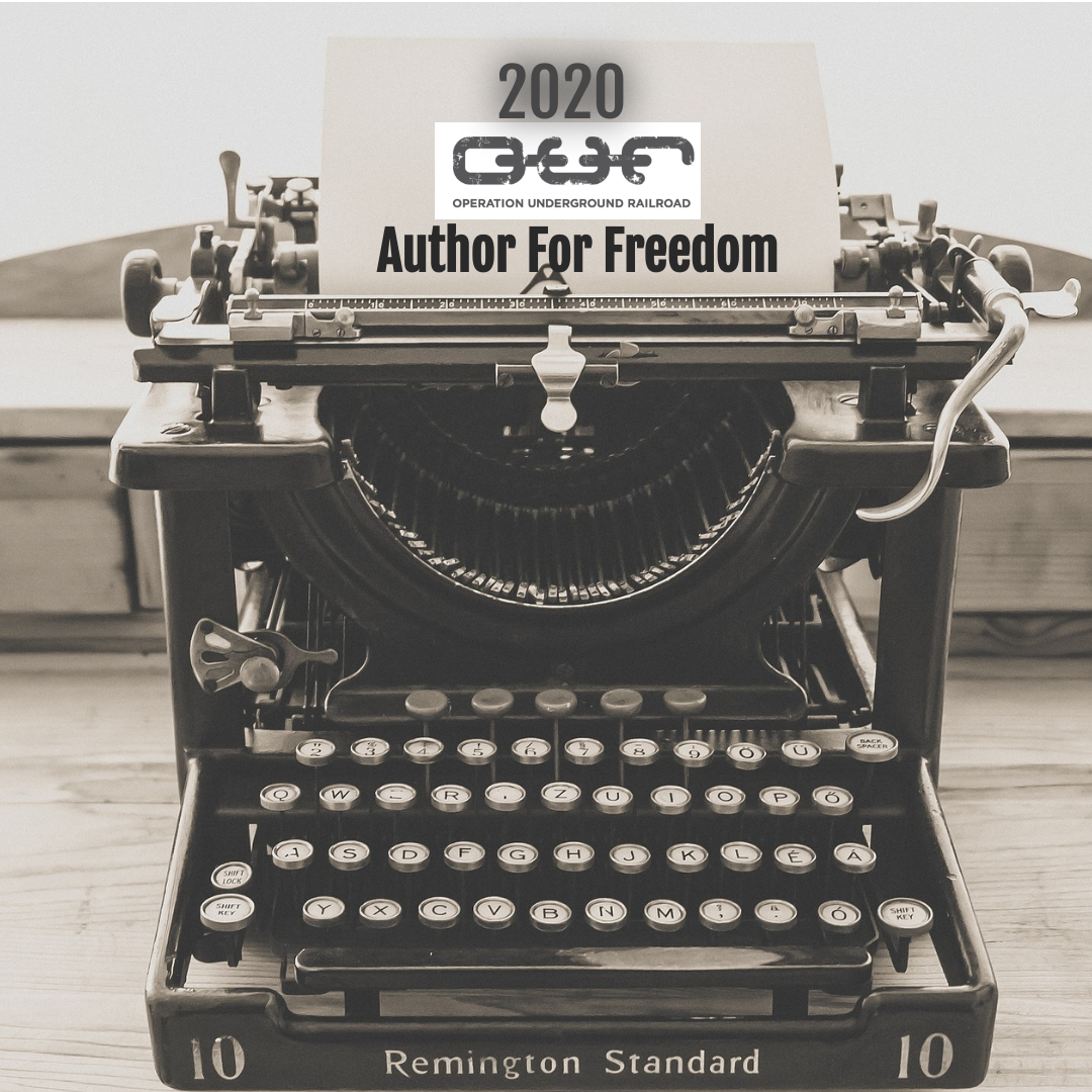 I'm a 2020 Author For Freedom